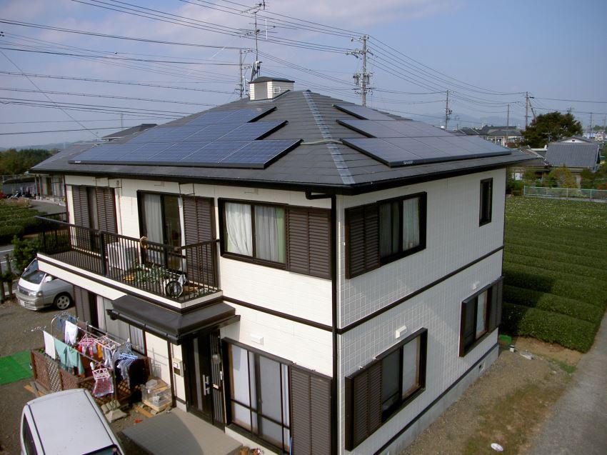 太陽光発電_寄棟屋根3