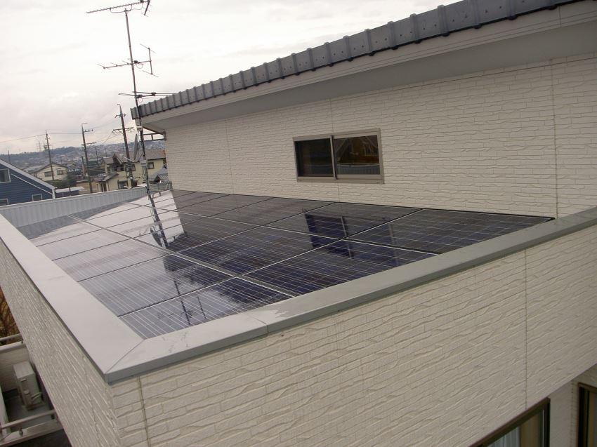 太陽光発電_切妻屋根3