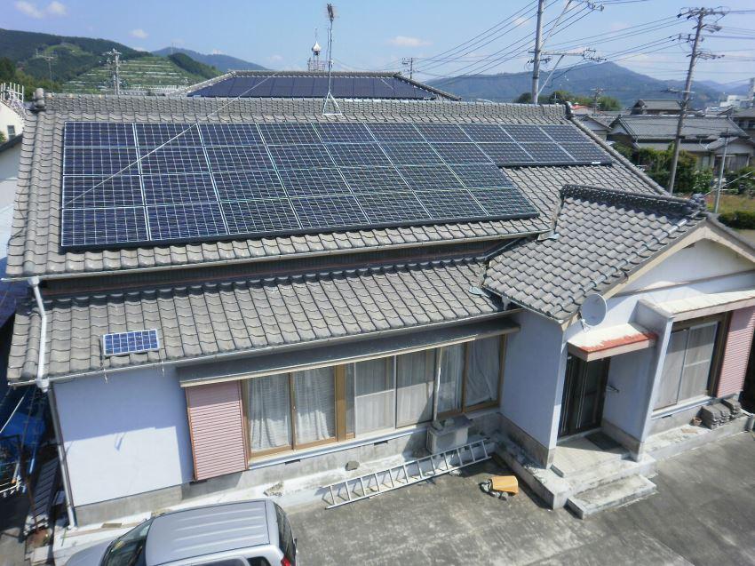 太陽光発電_切妻屋根4