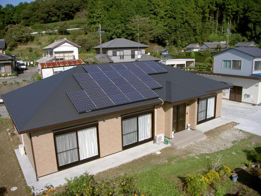 太陽光発電_寄棟屋根6