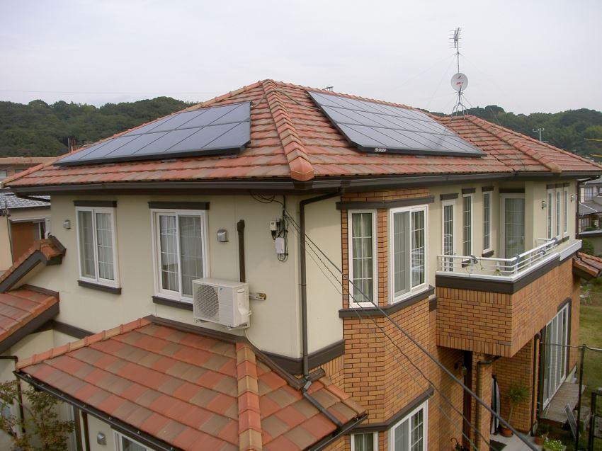 太陽光発電_寄棟屋根9