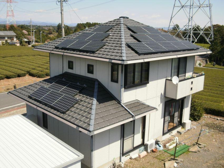 太陽光発電_寄棟屋根10