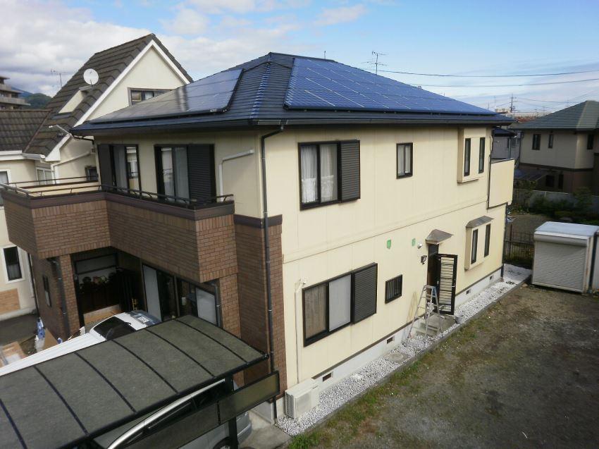 太陽光発電_寄棟屋根11