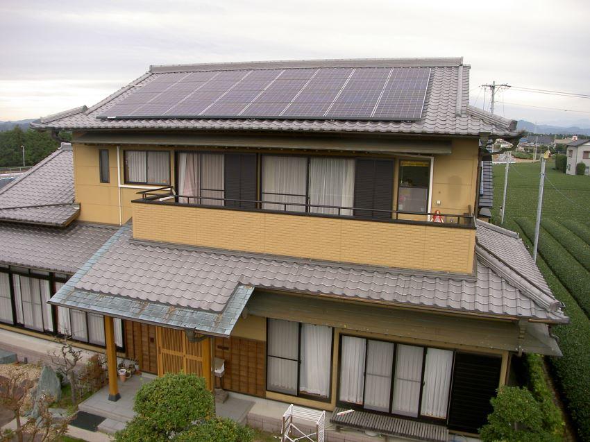 太陽光発電_切妻屋根11