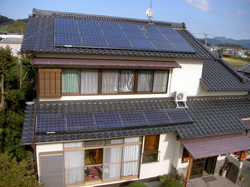 太陽光発電_切妻屋根14