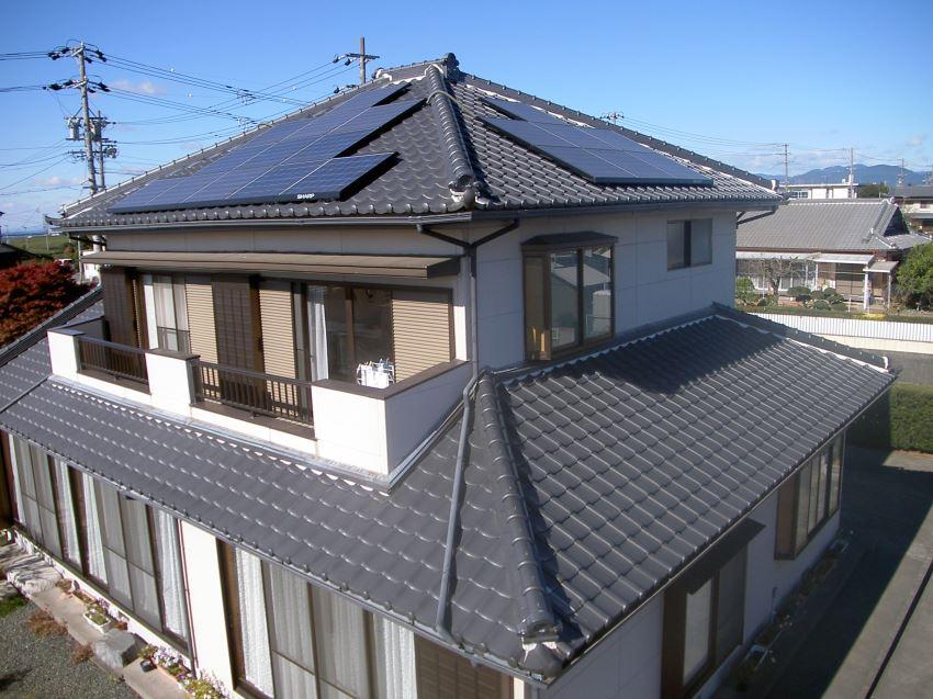 太陽光発電_寄棟屋根15