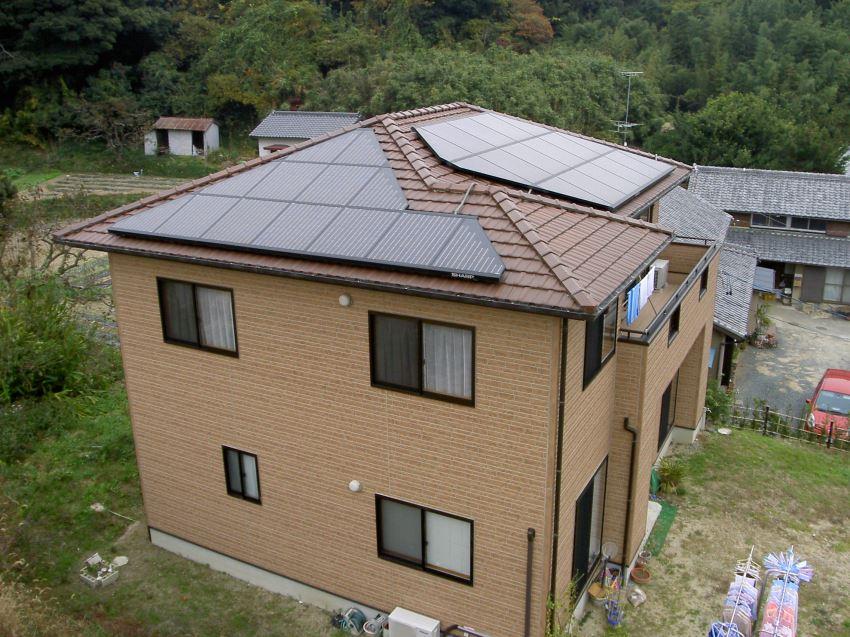 太陽光発電_寄棟屋根16