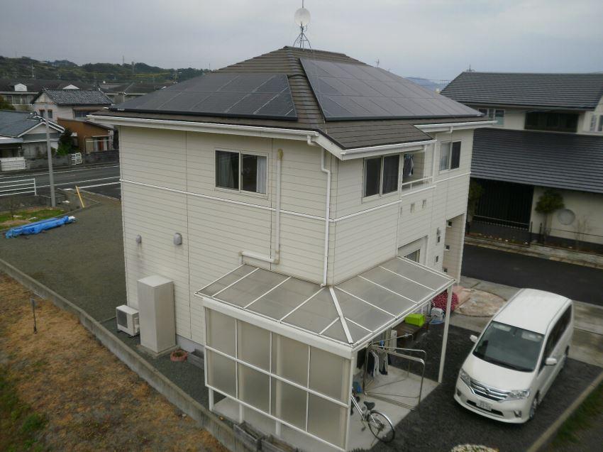 太陽光発電_寄棟屋根17