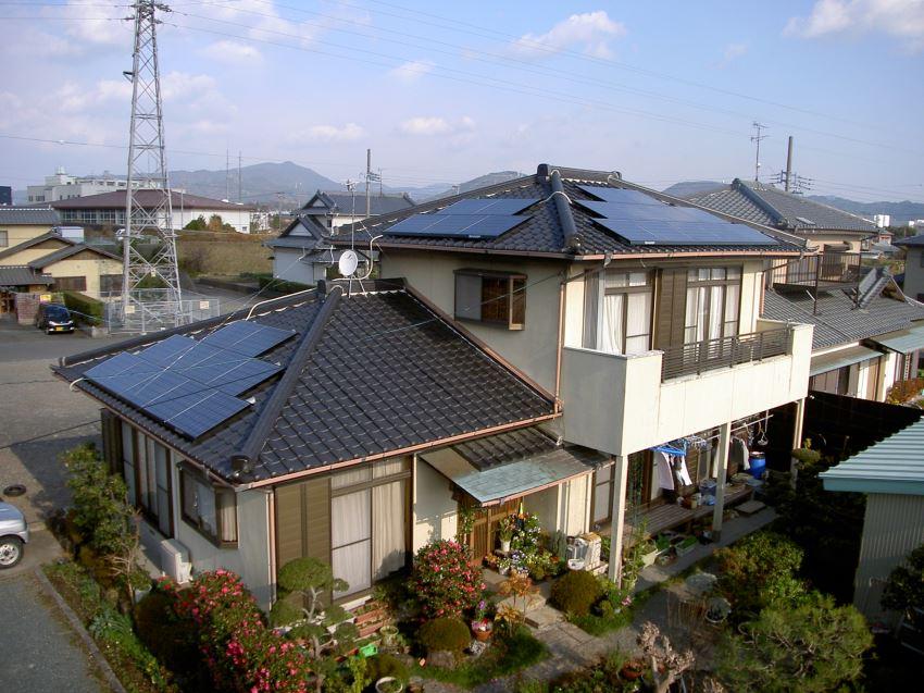 太陽光発電_寄棟屋根18