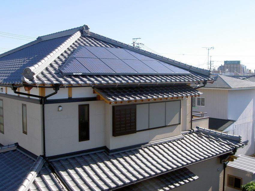 太陽光発電_寄棟屋根20