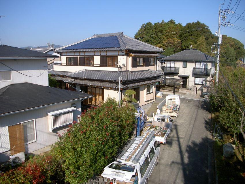 太陽光発電_寄棟屋根22