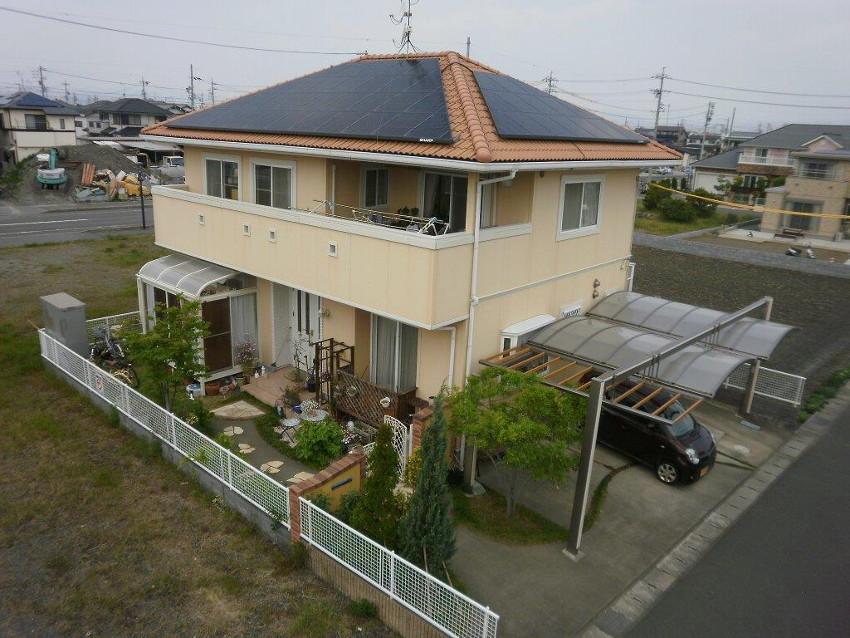 太陽光発電_寄棟屋根24