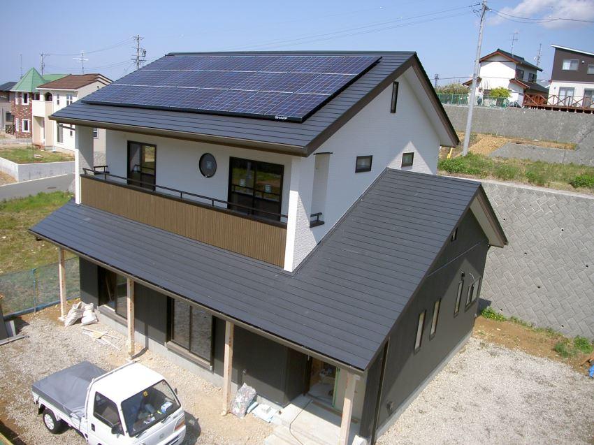 太陽光発電_切妻屋根30