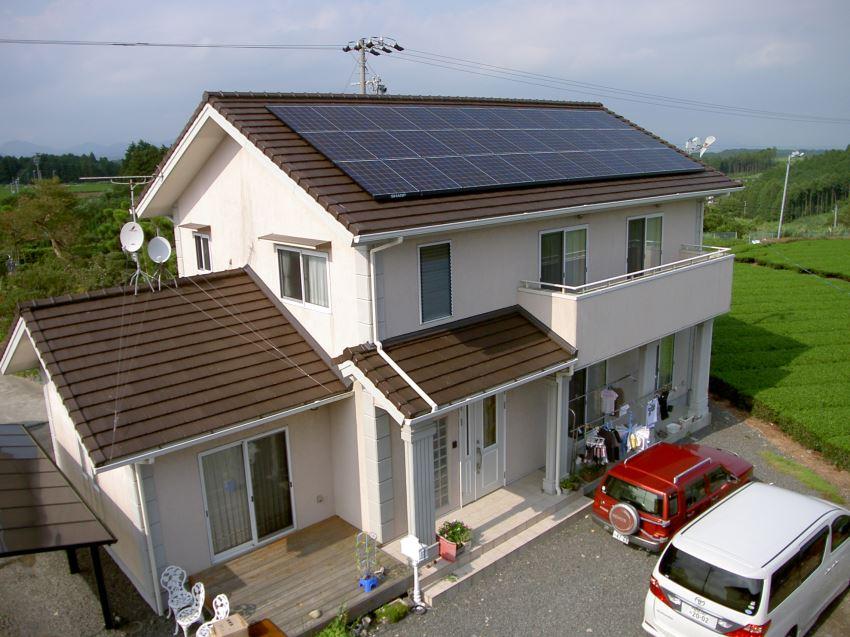 太陽光発電_切妻屋根88