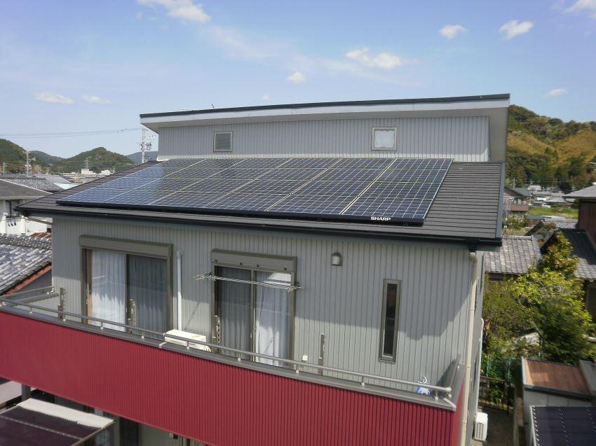 太陽光発電_切妻屋根89