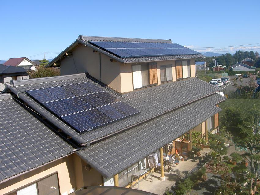 太陽光発電_切妻屋根98